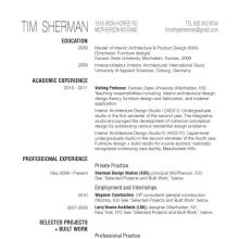 furniture designer resume - industrial designer resume sles visualcv ...