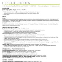 lissette cortes principal interior designer in sarasota fl interior design student resume