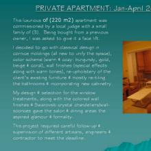 Luxurious Deir Ghbar Private Apartment