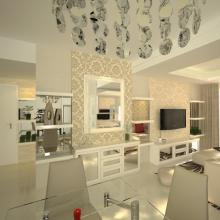 Vue 3 Bedroom Apartment Graha Famili Surabaya