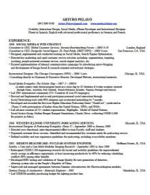 resume cv and business skills by arturo pelayo at coroflot