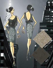Fashion Institute Of Technology Portfolio Womens Contemporary Gatsby