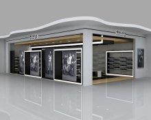 Automotive Tyre Showroom Concept By Yahkoob Valappil At