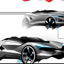 Bugatti Sketches By Atilla Tay At Coroflot Com