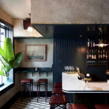 Bar Millwork Details By Julia Jacob At