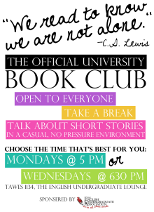 book club flyer template word .