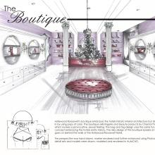 Professional interior design portfolio by stephanie runnion at for Interior design portfolio cover