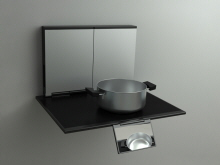 Sidecooker Wall Mounted Induction Cooktop By Goran