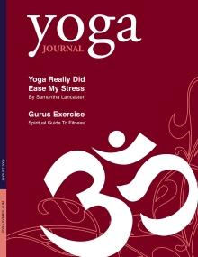 Yoga Magazine Cover And Spread