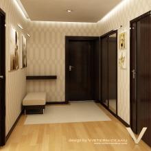 Design Interior Chisinau, Apartament In Complexul Locativ Crown Plaza 16  Files