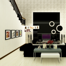 ZOOM Bodyworks Painting Office by Raffaele Interior Design at