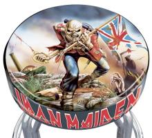 Iron Maiden Rotating Bar Stool By Elijah Williams At