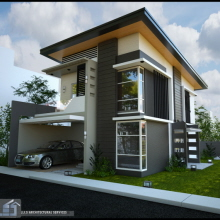 2 storey residential house rizal province by j j s for Online architectural services