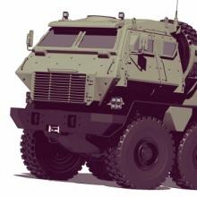 6x6 armored car concept - photo #11