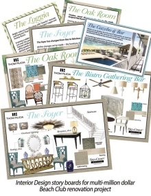 Interior Design Story Boards