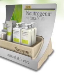 Neutrogena Naturals Launch Displays by Chad Buske at Coroflot.com