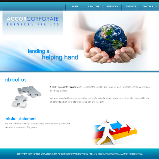 Web design projects by christopher pau at - Accor australia head office ...