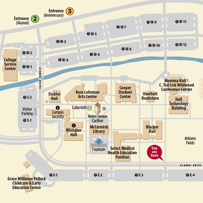 Hacc Harrisburg Campus Map Harrisburg Area Community College   Wayfinding, Directory Map by