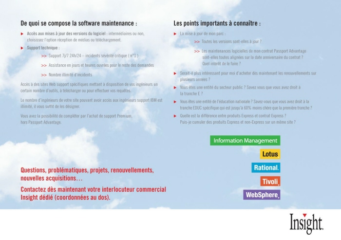 IBM French Brochure by Darwin Sardez at Coroflot com
