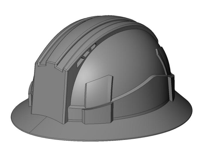 LIFT Safety - Vantis Hard Hat by Ben LaBelle at Coroflot com