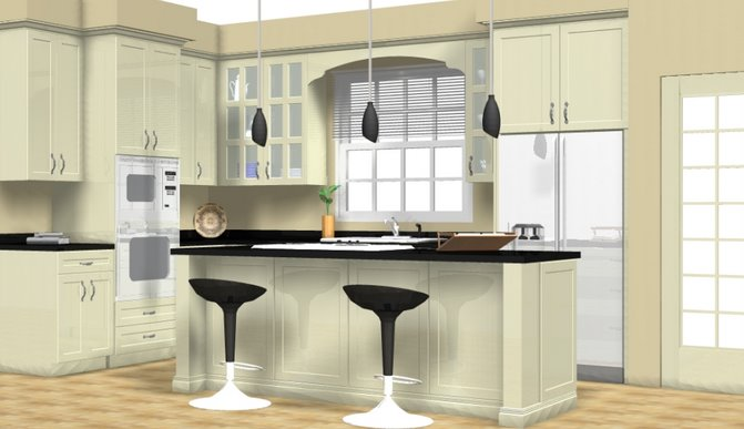 Custom Kitchen For The Geoghegan Residence At Jacksonville Ranch Florida Usa Concept Design By Barry Bunker And Matt From