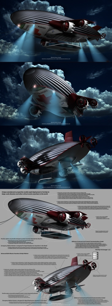 Airship Archangel by Reindy Allendra at Coroflot com