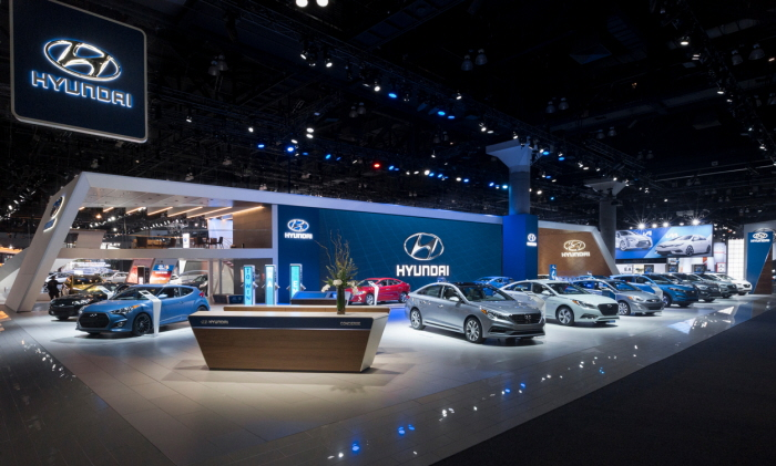 Hyundai At The Los Angeles Auto Show By Stuart Fingerhut At - Hyundai car show