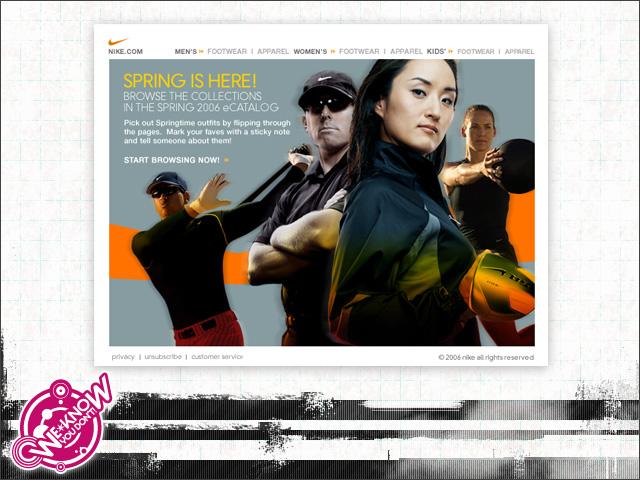 Conexión insecto rasguño  Nike Direct Marketing by I AM {thewkyd}!* at Coroflot.com