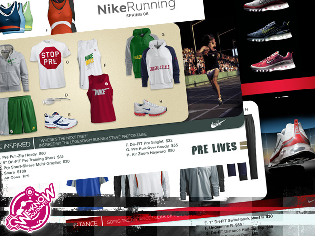 57d21f0979a7 Nike  eCatalog layout   production - Design and production of direct  marketing email templates