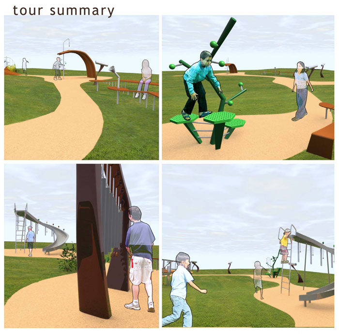 Playground Concept by Nathan Schleicher at Coroflot com