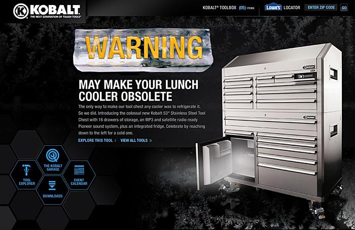 Kobalt Tool Chest >> Kobalt 53 inch Tool Chest by Scott Rench at Coroflot.com