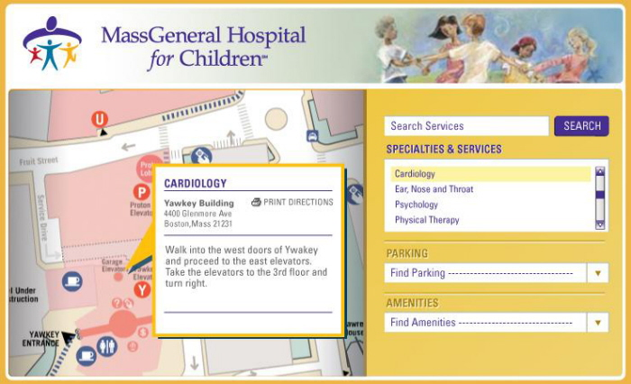 Mass General Hospital Directions