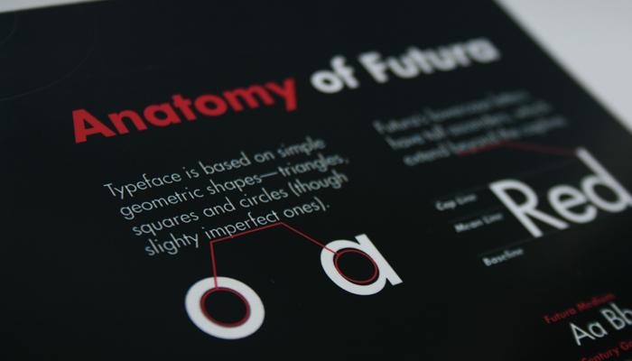 Futura Type Specimen Book By Sean Liburd At Coroflot