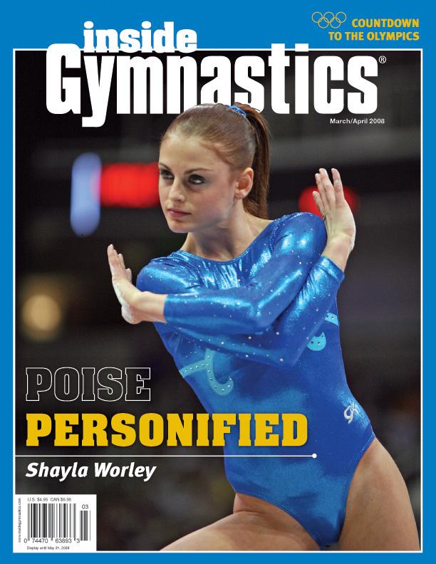 Inside Gymnastics Magazine   Gymnastics magazine featuring