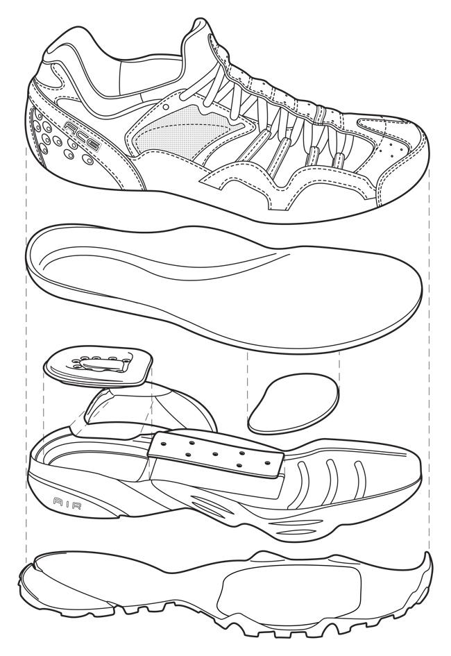 technical illustration by jeff wheeler at coroflot com