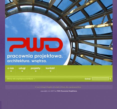 Web Design by Boguslaw Dziewierz at Coroflot com