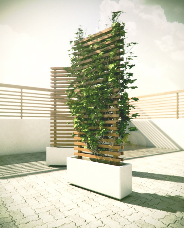 Mobile Vine Wall Concept By Antoine Desjardins At