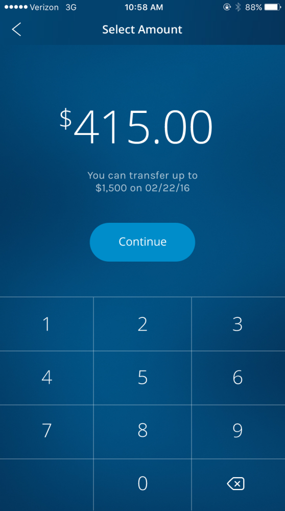 Morgan Stanley Payment App by Jonathan Chan at Coroflot com