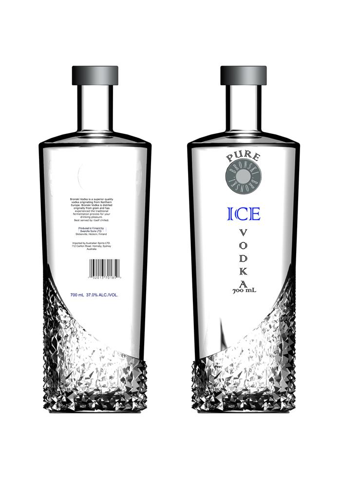 Vodka Bottle By Skye De Ruyter At Coroflot Com