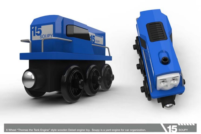 Thomas Wooden Trains By Jeff Smith At Coroflotcom