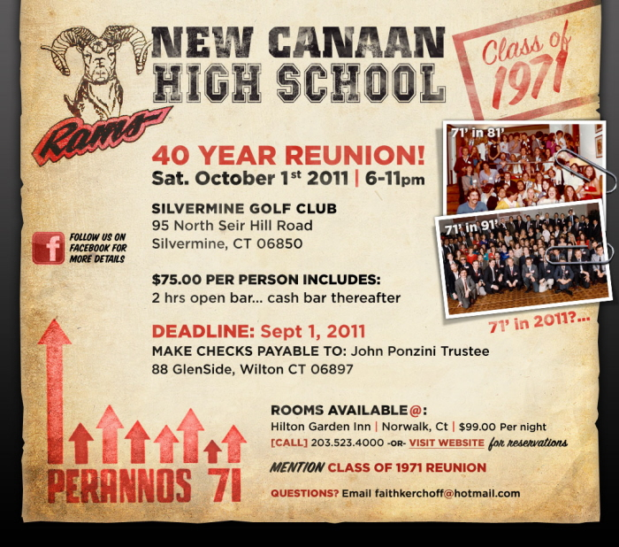 NCHS 40th Reunion Portal/Landing Page By Darren Kurre At