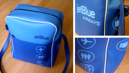 After Flight Bags From The Era When Flying Was Still Fun And Exciting This Hip Retro Bag Designed To Help Extend Jetblue Experience Beyond
