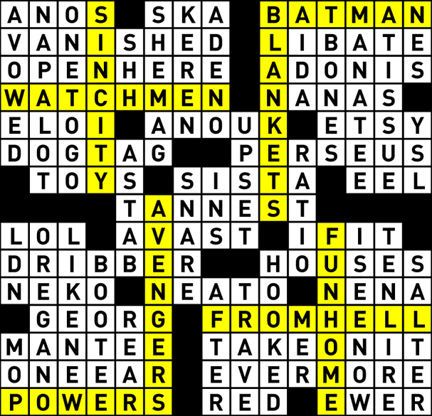 Crossword puzzle authoring l magazine by nyc factotum at crossword puzzle authoring l magazine by nyc factotum at coroflot ccuart Gallery
