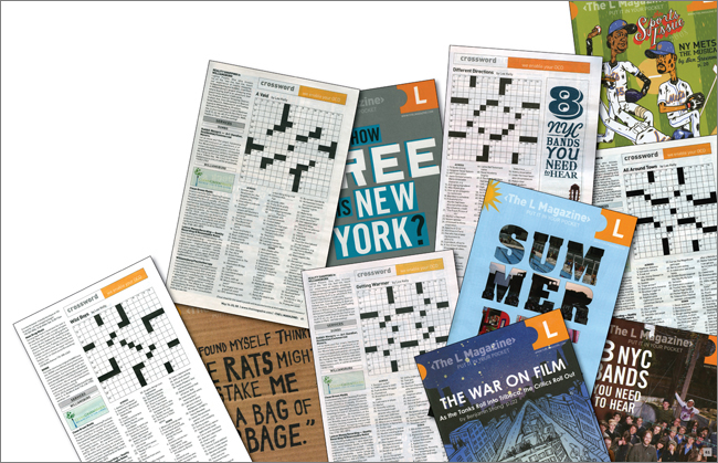 Crossword Puzzle Authoring L Magazine By Nyc Factotum At
