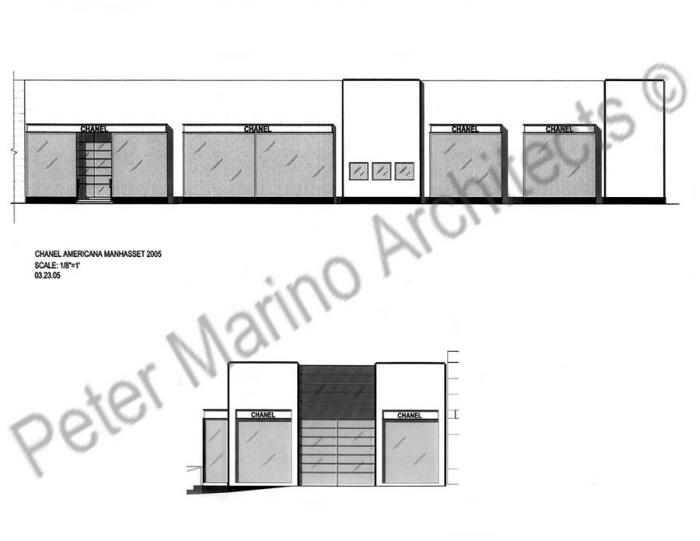 Chanel Store Facade-Americana Manhasset-NY-Peter Marino Architects by  Frederic Debackere at Coroflot.com cb9bceef6a75b