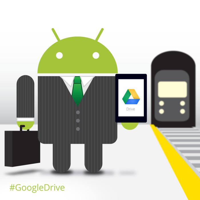 Google Android Icon Illustrations - Social Media PR