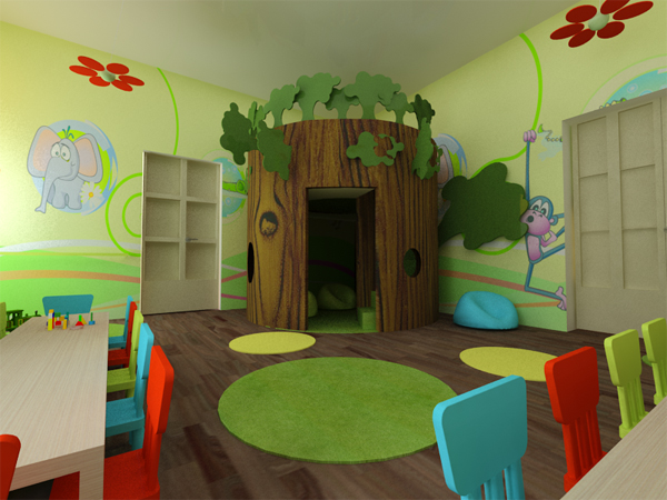 Architecture Design For Virtual Classroom ~ Kindergarten by monika juhasz at coroflot