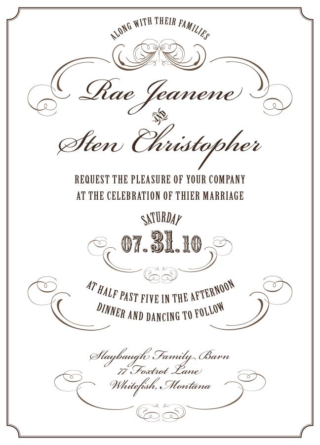 custom invitations note cards by bonni van de wouw at coroflot com