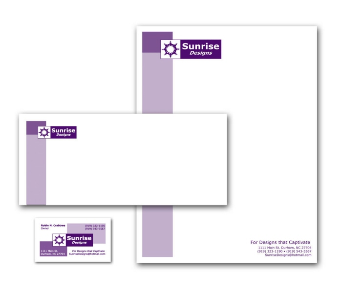 Letterhead business cards envelopes by robin crabtree at coroflot colourmoves
