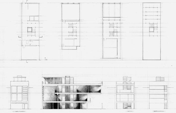 Elevation Plan Ymca : Studio work by elizabeth nooe at coroflot